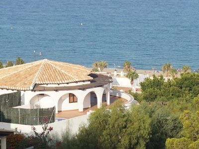 Spectacular Mediterranean villa with panoramic views of the coast of Mojacar Playa. Private plot of , Spain
