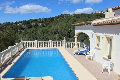 2 camere da letto Villa in affitto in Moraira