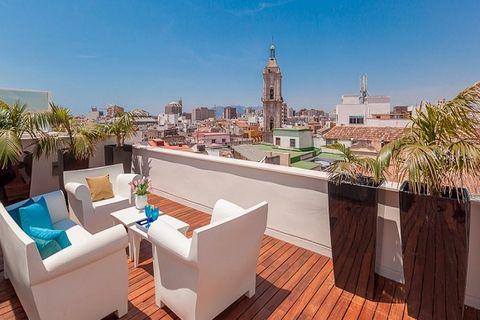 2 спальни Пентхаус купить во Malaga Historic Centre