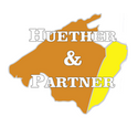 Huether & Partner företagslogotyp